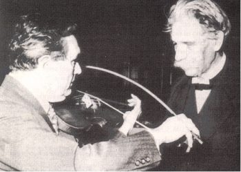 Albert Schweitzer and the curved bow