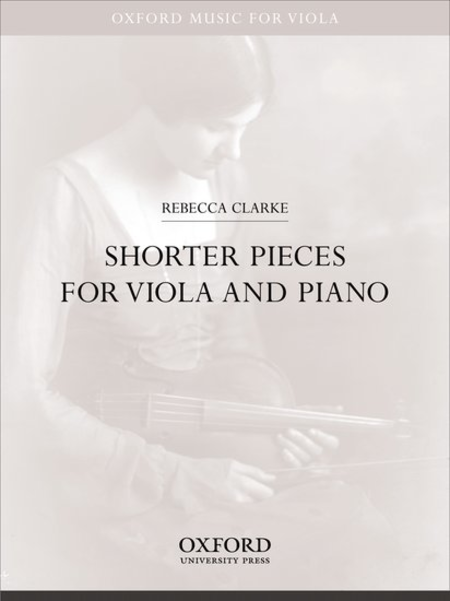 Buy Rebecca Clarke's sheet music, shorter pieces for viola and piano