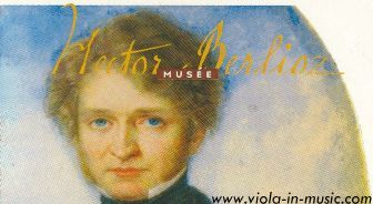 Biography of Hector Berlioz, who composed Harold in Italy for Paganini after he requested him a work for viola