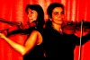 Caroline and Monica play Mozart's Sinfonia Concertante for violin, viola and orchestra