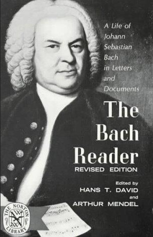 Bach reader: A life of J.S. Bach in letters and documents; David, H.T., Mendel, A.  Bach played the viola, did you know?