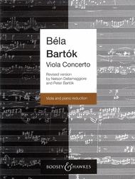Bartok Viola Concerto, edited by Nelson Dellamaggiore