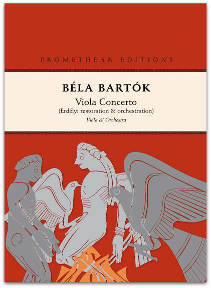 Bartok Viola Concerto, edited by Csaba Erdélyi