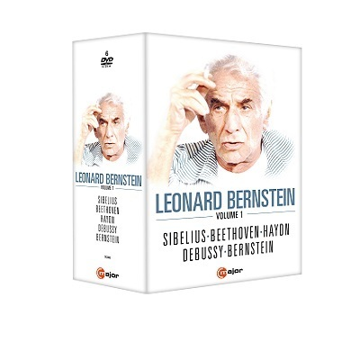 A DVD box set celebrating Leonard Bernstein's upcoming 100th birthday