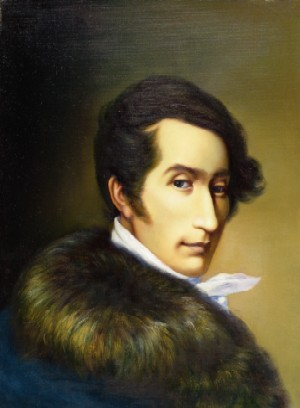 Carl Maria von Weber composed interesting and challenging works for the viola. In his opera Der Freischutz there is an Aria accompanied by a solo viola all the time. Listen to it here