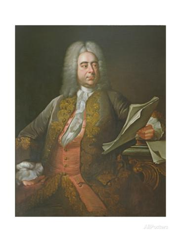Portrait of Georg Frederick Handel,