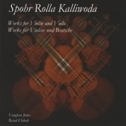 Kalliwoda, Spohr, Rolla<br> Duos for Violin & Viola. Buy CD
