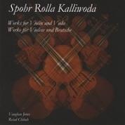 Kalliwoda, Spohr, Rolla<br> Duos for Violin & Viola. Buy CD