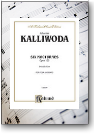 6 Nocturnes for viola and piano. Downloadable sheet music