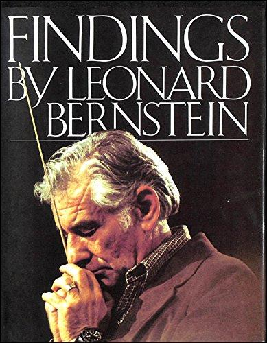 Findings by Leonard Bernstein. Buy this book