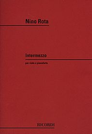 Nino Rota's Intermezzo for viola and piano