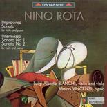 Nino Rota: Viola Sonatas 1 and 2, Improvviso, Intermezzo, Violin Sonata