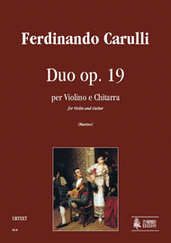 Buy Ferdinando Carulli sheet music, works for guitar with violin, viola, flute