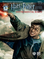 Harry Potter Viola Solos sheet music with orchestra accompaniment CD