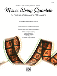 Movie String Quartets for festivals, weddings and all occasions. John Williams sheet music