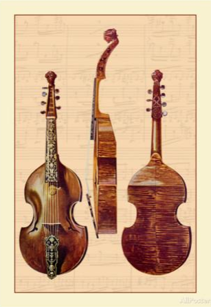 Viola d'Amore. Buy this poster and many more