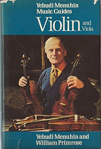 Best viola books - Violin and viola by Menuhin and Primrose