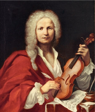 Portrait of Antonio Vivaldi. Composer of viola d'amore concertos. Buy this poster and more