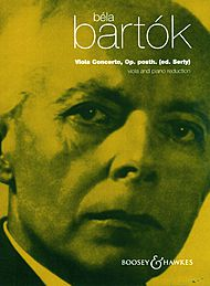 Bartok Viola Concerto, edited by Tibor Serly
