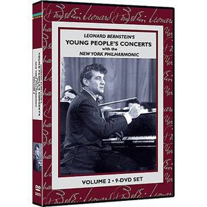The Educator: Leonard Bernstein's Young People's Concerts - 9 DVDs