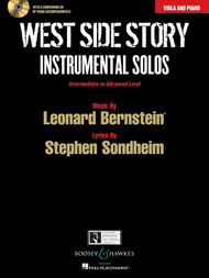 Click here to buy Bernstein's Somewhere with solo viola, sheet music and play-along CD