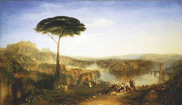 Childe Harold's Pilgrimage, by William Turner, Italy, 1832