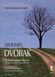Click here to buy Dvorak's piano Quintet, sheet music and play-along CD