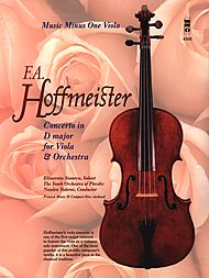Play-along for viola: concerto without the soloist