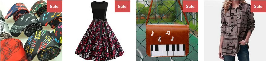 Beautiful gifts for musicians and music lovers