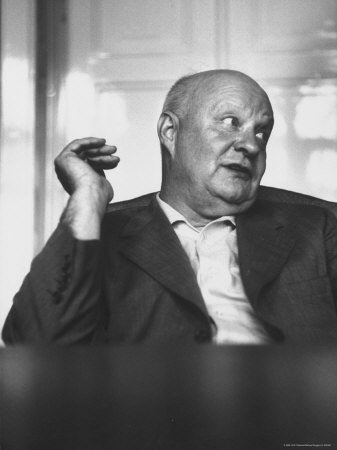 Paul Hindemith: composer and famous concert violist. He composed Trauermusik in six hours on occasion of King George V's death. He performed it on the same evening in a memorial concert in London.