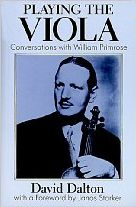Click here to buy the book Playing the Viola, by Violist William Primrose