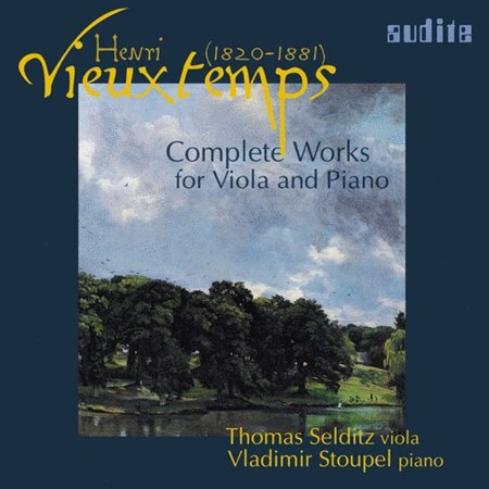 Henri Vieuxtemps CD: Complete Works for Viola & Piano