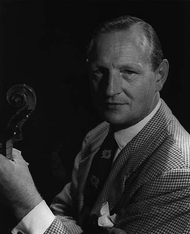 William Primrose, famous viola player. Viola virtuoso and first viola star (even in Hollywood!)