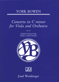 York Bowen: Concerto for Viola and orchestra. Buy sheet music